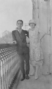 1925 - Fiançailles a Blaye