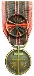 Medaille dela Resistance avec Rosette