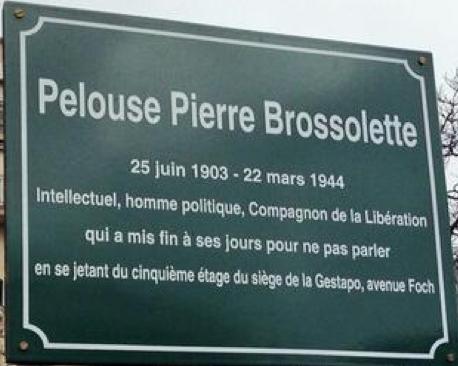 pelouse Pierre Brossolette avenue Foch
