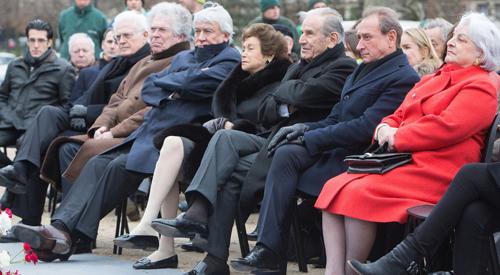 Inauguration de la Pelouse Pierre Brossolette