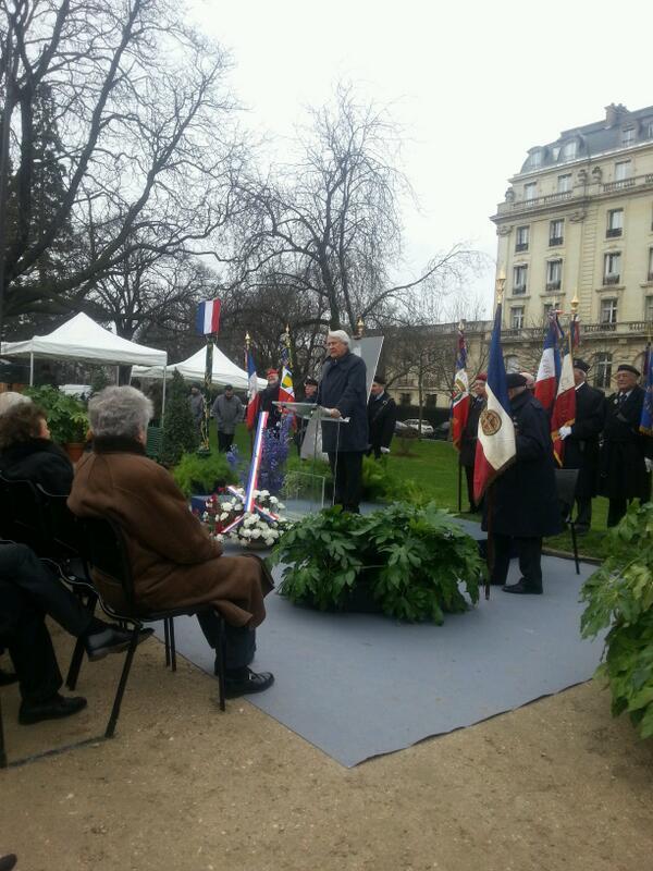 discours de Claude gouasguen en lhonneir de Pierre Brossolette