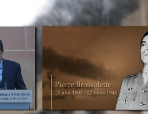 François Hollande annonce l'entrée de Pierre Brossolette au Panthéon