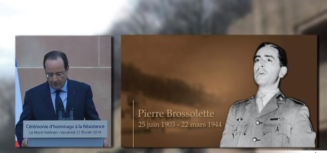 Annonce de Pierre Brossolette