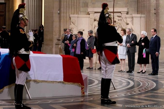 Panthéon Pierre Brossolette Hollande