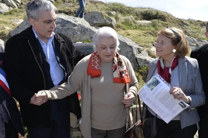 Miguel Brossolette Branco , Anne Brossolette et d'Estienne d'orves