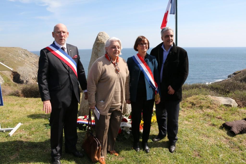 maire de plogoff Anne Brossolette