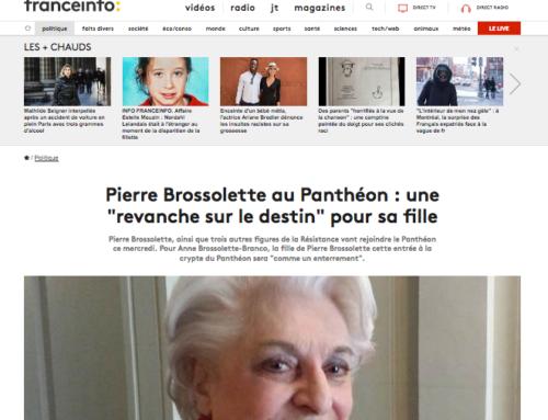 La fille de Pierre Brossolette témoigne sur son père