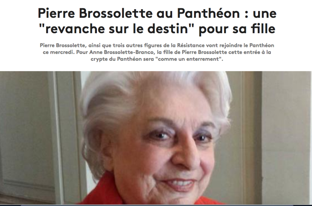 Anne Brossolette France Info